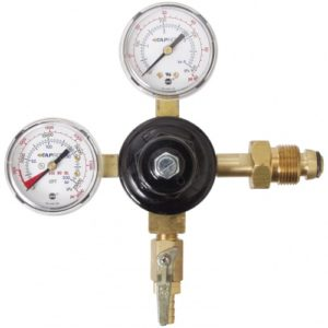 Nitrogen & Argon Regulator - Dual Gauge