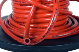 Gas Hose, Red, 5/16 ID, 9/16 OD, Per Foot