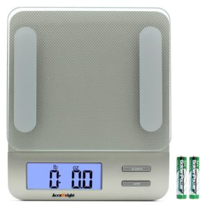 Accuweight 207 Digital Scale – 11 lb capacity, 1 gram resolution