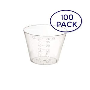 Dynarex 4252-1 Medicine Cup (Polyethylene), 100 Count