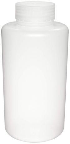 Azlon 301625-0008 250mL / 8oz, Plastic (PP) Wide Mouth Lab Sample Bottle (Pack Of 12)