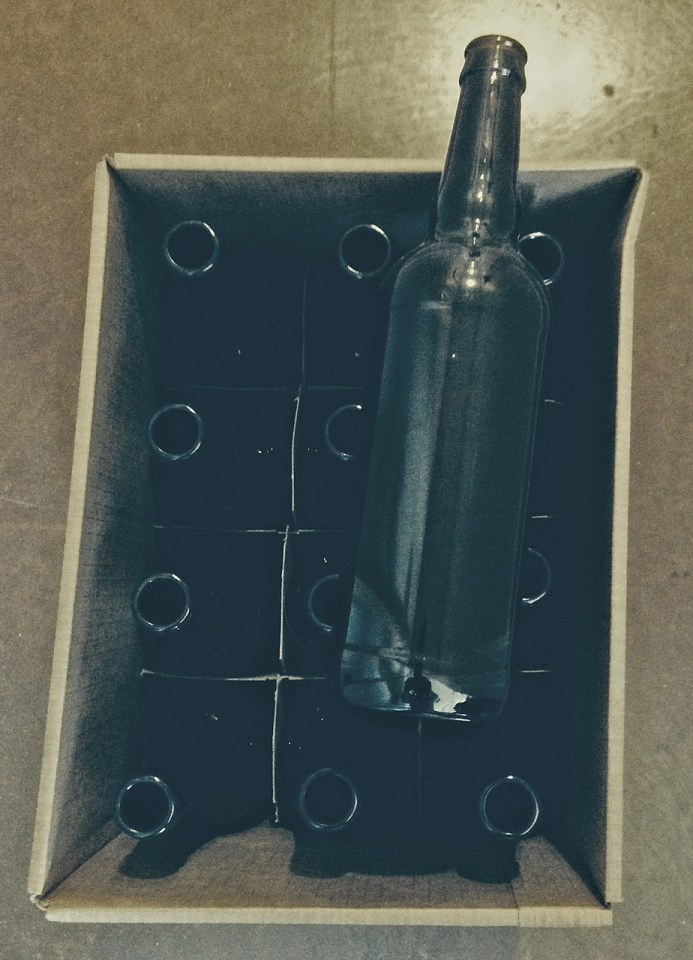 "22 Ounce ""Bomber"" bottles, 12 in the case"