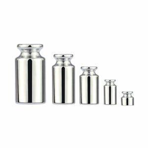 Walmeck Weight 1g 2g 5g 10g 20g Chrome Plating Calibration Gram Scale Weight Set for Digital Scale Balance