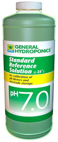General Hydroponics Ph 7.0 Calibration Solution - 8 Ounces, 1 bottle