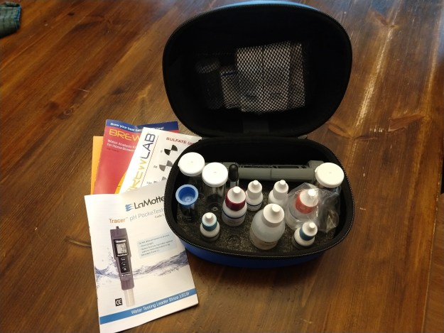 Hands on Review: LaMotte Brew Lab Plus Water Test Kit