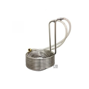 ColdBreak Stainless Steel Immersion Wort Chiller - 25 Feet 194-0003