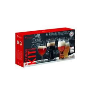 Spiegelau Craft Beer Tasting Kit (Set of 4), Clear