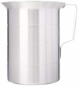 Crestware MEA04 4-Quart Aluminum Liquid Measures, 1 Silver