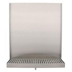 wall mount drip tray