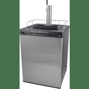 Single Tap Stainless Steel Kegerator KG351