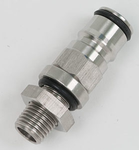 Liquid Ball Lock With Threaded Post