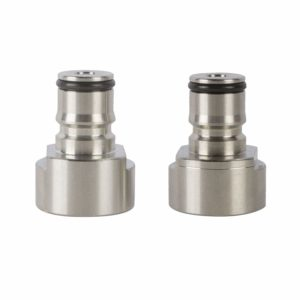 HFS (R) Ball Lock Quick Disconnect Conversion Kit,Stainless Steel Keg Coupler,Sankey to Ball Lock Quick Disconnect Conversion Kit