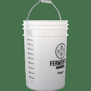 6.5 Gallon Ported Fermenting Bucket w Lid & Spigot Food Grade Brewing Pail Beer