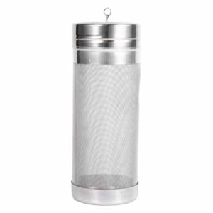 12inch// 6inch Beer Brew Hop Filter 304 Stainless Steel Homemade Beer Screen Strainer Tool for Kettle Mash Tun 6inch
