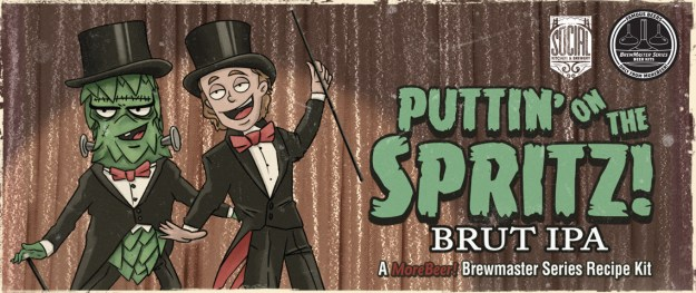 puttin on the spritz brut ipa
