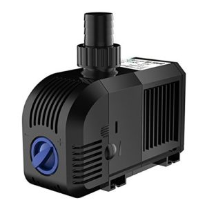 SongJoy Submersible 1320 GPH Water Pump for Aquarium Fish Tank Fountain Indoor Outdoor Water Garden Pond (400GPH)