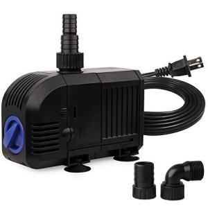 FREESEA Submersible Pump for Aquarium, Pond, Fountain, Hydroponics, Statuary