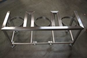The Brew Stand - Single Tier Stainless Steel Brew Stand