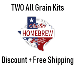 Ends Today: 2 x ALL GRAIN Recipe Kits from $35 53, just $17 77/kit