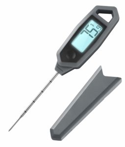 """Lavatools PT18C Compact Professional Commercial 3"""" Fixed Probe Ambidextrous Backlit Instant Read Digital Meat Thermometer (Sesame)"""