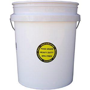 5-Gallon Commercial Food Grade Bucket