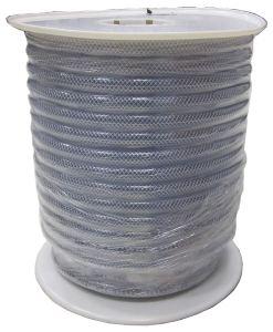 LDR 515 B5002S Braided Vinyl Hose Tubing, 3/8-Inch ID X 5/8-Inch OD, Clear, 150-Foot Spool