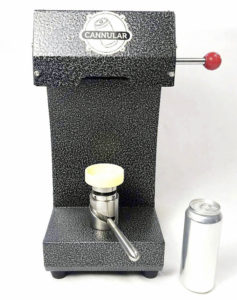 Cannular Canning Machine
