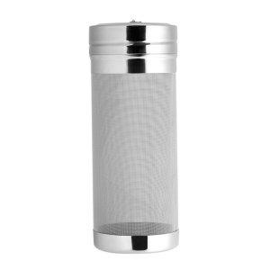Beer Dry Hopper Filter, 300 Micron Stainless Steel Mesh Hop Spider Homebrew Hop Filter Beer Brewing Tea Kettle Brew Filter Strainer Bar Accessories