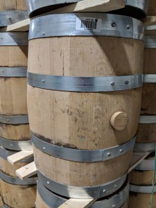 Used 5 Gallon Whiskey Barrel