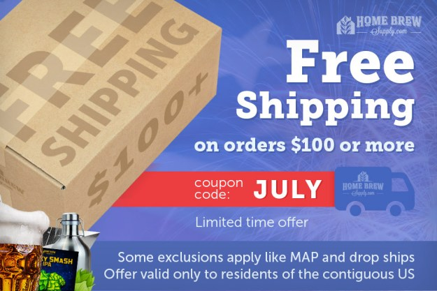 homebrewsupply.com free shipping