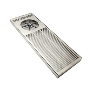 """Krome Dispense Rinser with Side Spray, 7 by 36"""", Stainless Steel"""