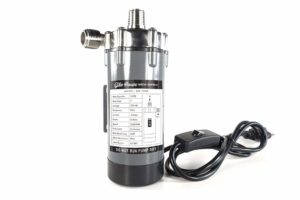 GILE HOUSE BREW SUPPLY Stainless Steel Head Magnetic Drive Wort & Beer Pump - 120V Food Grade Water Circulation Pump With In-line Switch
