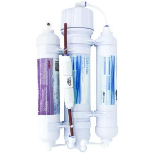 3-Stage Portable Aquarium-Countertop Reverse Osmosis Water Filter System-100GPD