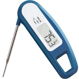 Lavatools PT12 Javelin Digital Ultra Fast Instant Read Meat Thermometer for Kitchen, Outdoor Grilling, BBQ, Brewing, and Frying (Indigo)