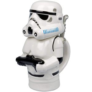 Star Wars - Stormtrooper Ceramic Beer Stein with Hinged Lid - 22 oz