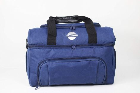 Insulated Cooler Bag by Stellarwares - Used by Men Women and Children - Great for work play and travel - Large bag with many compartments