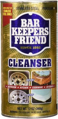 Bar Keepers Friend Powdered Cleanser 12-Ounces (6-Pack)
