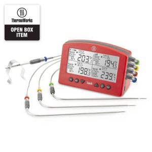 Signals™ 4-Channel Wi-Fi/Bluetooth BBQ Alarm Thermometer - Open Box