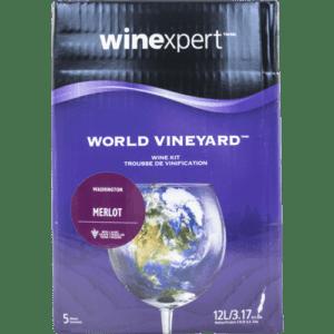 Winexpert World Vineyard Washington Merlot Wine Recipe Kit WK735