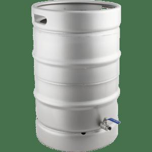 Keggle Homebrew Kettle - Converted Stainless Keg (15.3 gal) KEG995