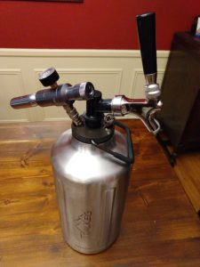 Hands on Review: TrailKeg 1 Gallon Growler, Regulator & Tap