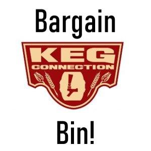 keg connection bargain bin