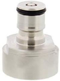 Carbonation Cap 1-Pack – Stainless Steel CO2 Beer, Soda, Water, Juice Carbonator for Plastic Bottles and Ball Connectors