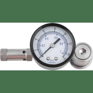 Ball Lock Spunding Valve (w/ Pressure Gauge) FIL42AS