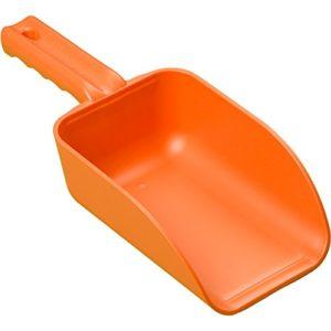 Remco 64007 Orange Polypropylene Injection Molded Color-Coded Bowl Hand Scoop, 32 oz, 1 Piece