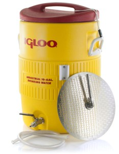 Igloo Cooler Mash Tun with False Bottom - 10 Gallon