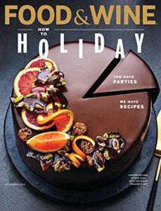 Food & Wine Print Magazine