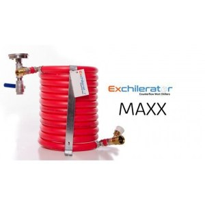 ExChilerator MAXX Counterflow Wort Chiller (with Thermometer)