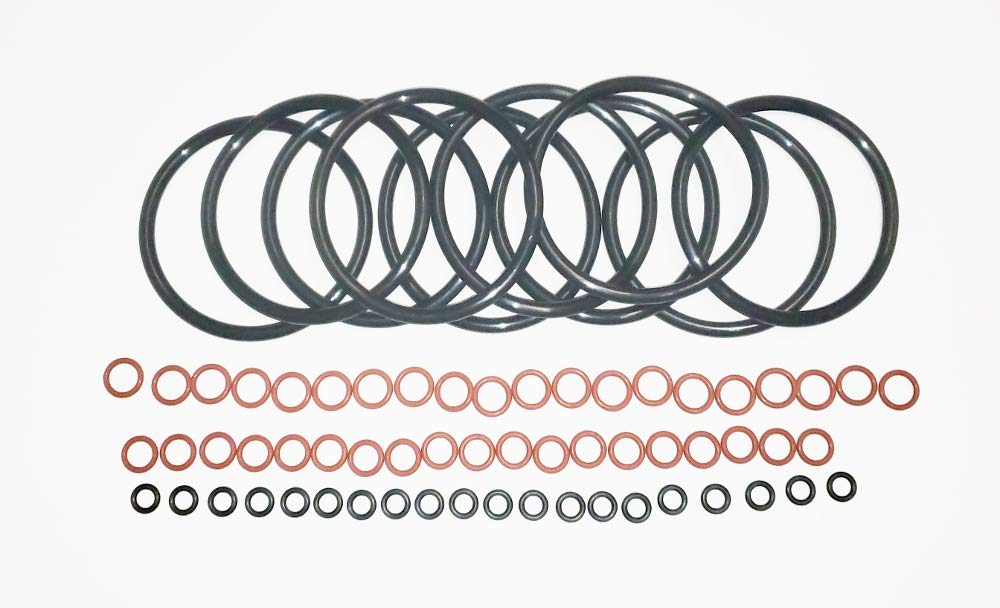 1//16 Width Black 70A Durometer Pack of 100 3//16 ID 008 Neoprene O-Ring Round 5//16 OD