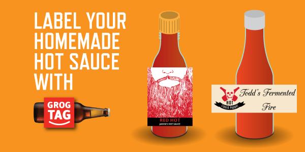 custom homemade hot sauce labels